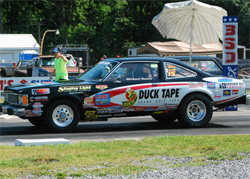 Duck Tape Racing's 1980 Volare had three dead-on runs at Pageland Dragway