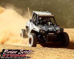 Mansell says his substantially re-engineered RZR XP 900 is a great source of pride.