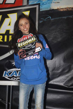Brooke Kawell kicked off 2013 by winning the LORORS event at Glen Helen.