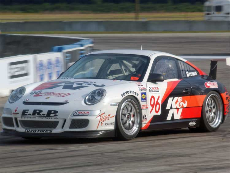 k n gt3 porsche to race at toyota grand prix of long beach. Black Bedroom Furniture Sets. Home Design Ideas