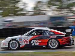 K&N No. 96 at Sebring World Challenge GT Race