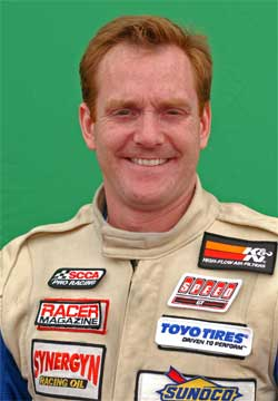 Paul Brown will drive the K&N Engineering Porsche in the Long Beach Grand Prix