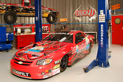 In debuting his primary sponsor on an episode of TruckU, Massel also provided welcome exposure to K&N and his other sponsors.