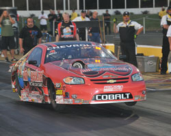 Bruno Massel put together quite an impressive weekend at his first NHRA National Event of the 2011 race season.