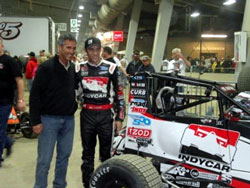 Bryan Clauson and his team are looking forward to an exciting 2012 season, as they will be competing in both USAC and Indy races.