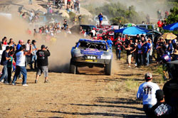 Starting out front presented its own set of challenges, but nothing the Menzies Motorsport duo couldn't handle.