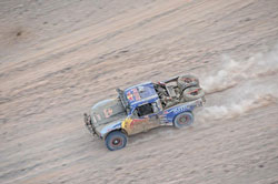 For Menzies Motorsports, the biggest race of their 2011 season boiled down to their first ever SCORE Baja 1000.