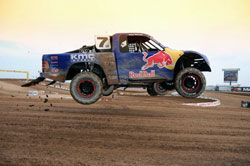 The Menzies Motorsports truck put their new wings to the test in the first round of the short track season.