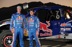 The K&N sponsored team of Bryce Menzies and Pete Mortensen led the 2011 Baja 500 from wire-to-wire.