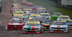 The Camaro Cup Series has been in existence in Sweden for 22 years, and it growing each year.