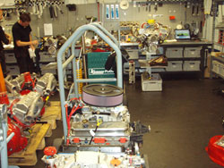 Bryntesson MotorSport Engineering AB is currently building a new bigger shop so that the growing business can house everything in one location.