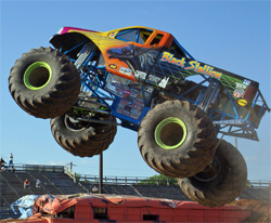 Black Stallion piloted by Michael Vaters on the Monster Jam Circuit