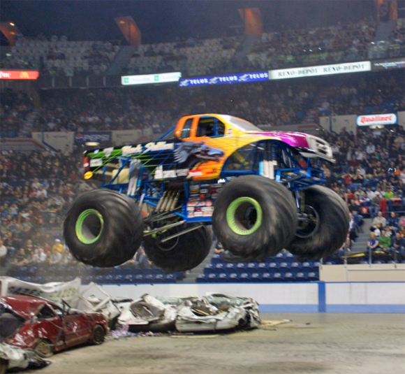 Monster Truck Canadian Spectacular Tour Plays to Packed Stadiums