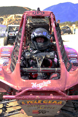 Lucas Oil Off Road Racing Series' Steve Bucaro and his 400cc buggy