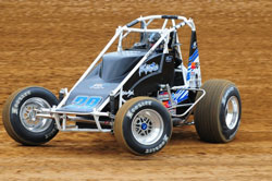 The K&N sponsored USAC West Coast 360 class race car