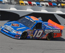 No. 10 International MaxxForce Diesel Power Ford F-150 ready to compete on superspeedways of Daytona and Talladega, courtesy of Ronda Greer, courtesy of Ronda Greer
