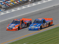 NASCAR Camping World Truck Series at Daytona International Speedway will be televised on SPEED-TV, courtesy of Ronda Greer