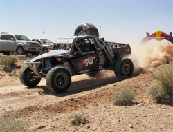 The Nevada desert Mint 400 off-road race consisted of four 100 miles laps under extreme conditions