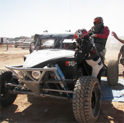 Third place finish for Jefferies Racing Built K&N Filters Class 1 Buggy in the Mint 400 desert off road race