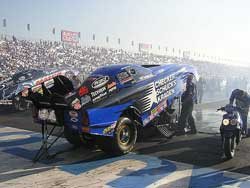 Burkart's CSK Funny Car Photo Courtesy of delworksham.com