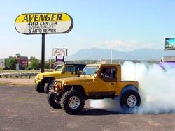 Avenger Superchargers Burnout