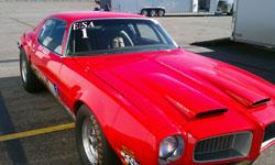 22-year-old, Brad Burton, won his first Stock Eliminator championship in 2010, driving his 1972 Pontiac Formula Firebird.