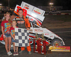The win at the Angelillo Memorial Race was Todd Bertrand's first career NEMA victory and it came in his rookie year.