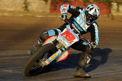 Adam Bushman was leading the 2012 AMA All Star National Championship when he was involved in a crash that put him on crutches for the remainder of the season.