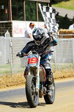 AMA Pro Flat Track Racer Adam Bushman