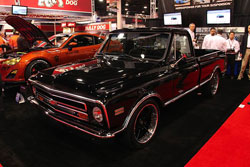 This 1968 Chevy C10 received a frame-off restoration for SEMA 2012