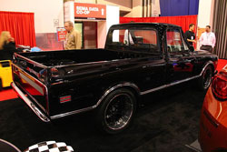 This is one sweet 1968 C10 that was displayed at the 2012 SEMA Show