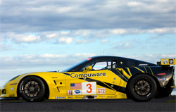 The strength of the Corvette is our mid corner speed and our ability to carry speed into the corners, said driver Johnny O'Connell, photo by GM Corp