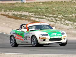 Andrew Caddell in 2007 Mazda Mx-5 Miata