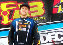 TORC Series PRO Lite racer Cam Reimers at Eldora Speedway