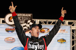 NASCAR K&N Pro Series Cameron Hayley Victorious at UNOH Battle of the Beach