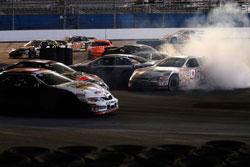 NASCAR K&N Pro Series inaugural race action at Daytona International Speedway