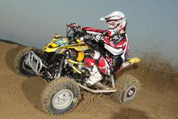 Can-Am Motoworks' Jeremie Warnia brought home the first hard earned win of the season for the team.