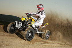 Dillon Zimmerman made it three in the top-five for team Can-Am Motoworks.