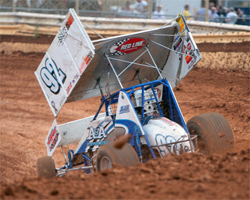 K&N air filters protects sprint car racers engines from dirt and debris at every race