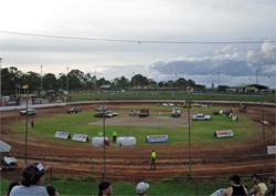 Boxing Day at Brisbane International Speedway in Australia