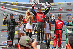Carl Renezeder recently set a new record in the Pro 4 class of the LOORS series upon earning nine consecutive wins.