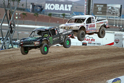 Carl Renezeder earned podium spots during every race at the Las Vega Speedway, while competing in rounds 13 and 14 of the Lucas Oil Off Road Series