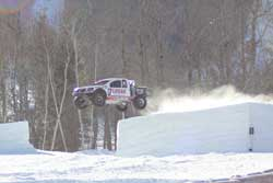 Carl Renezeder headed at Sun River Resort in Newry, Maine for the Red Bull Frozen Rush