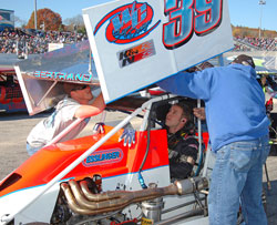 """He (Carter) was really impressed with the winged Midgets and told us he would like to return,"" said owner Tim Bertrand."