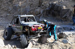 Casey Currie finished top 15 out of 158 durring the 2014 Griffin King Of The Hammers