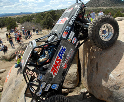 We Rock climbers take on tough off road courses in Cedar City, Utah, photo by Jud Leslie