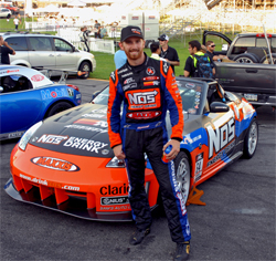 Formula Drift Triple Crown Winner Chris Forsberg plans to meet and greet fans at the SEMA show in Las Vegas, Nevada