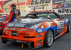 Nissan 350Z with K&N products will have an upgraded drive and engine package for the 2010 Formula Drift Series