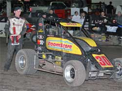 Chad Boat wins two in a row at Manzanita Speedway