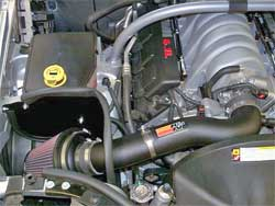 K&N 57-1555 Air Intake Installed in 2007 Jeep Grand Cherokee with 6.1 Liter Engine